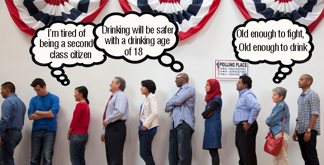 Lowering the Drinking Age on the Ballot