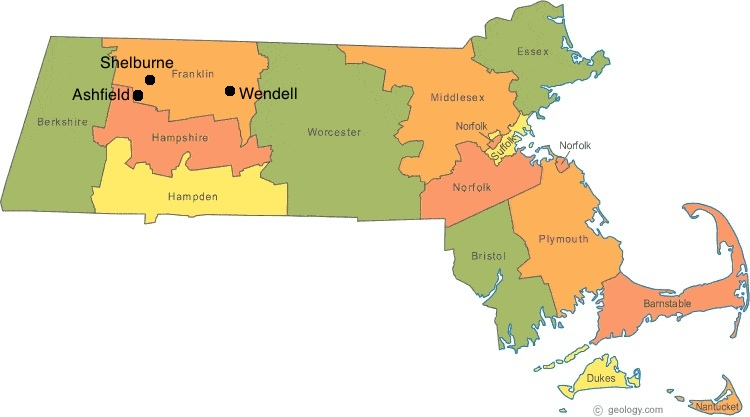 Massachusetts map of towns lowering the voting age