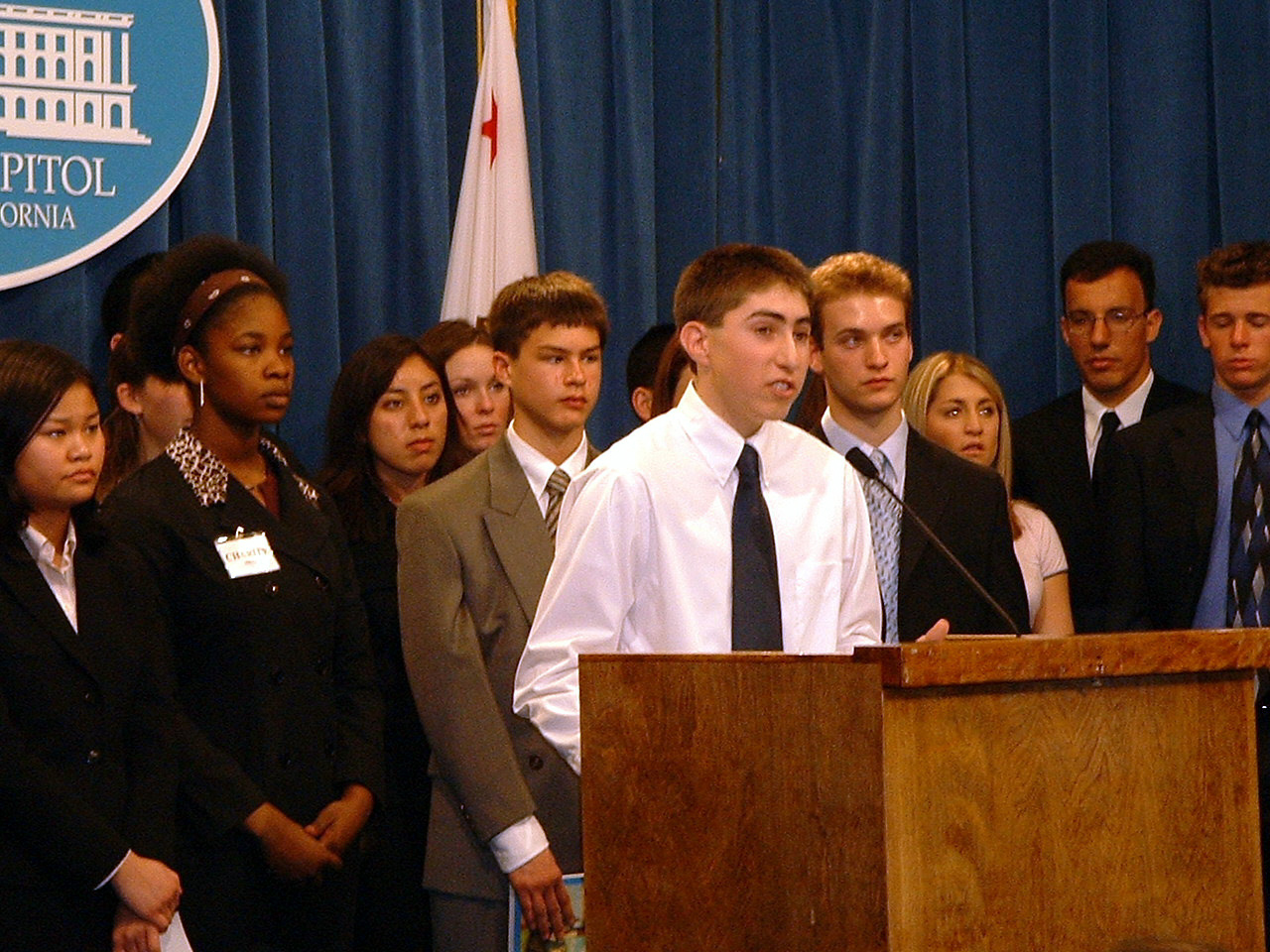 Press Conference to Lower the Voting Age in California