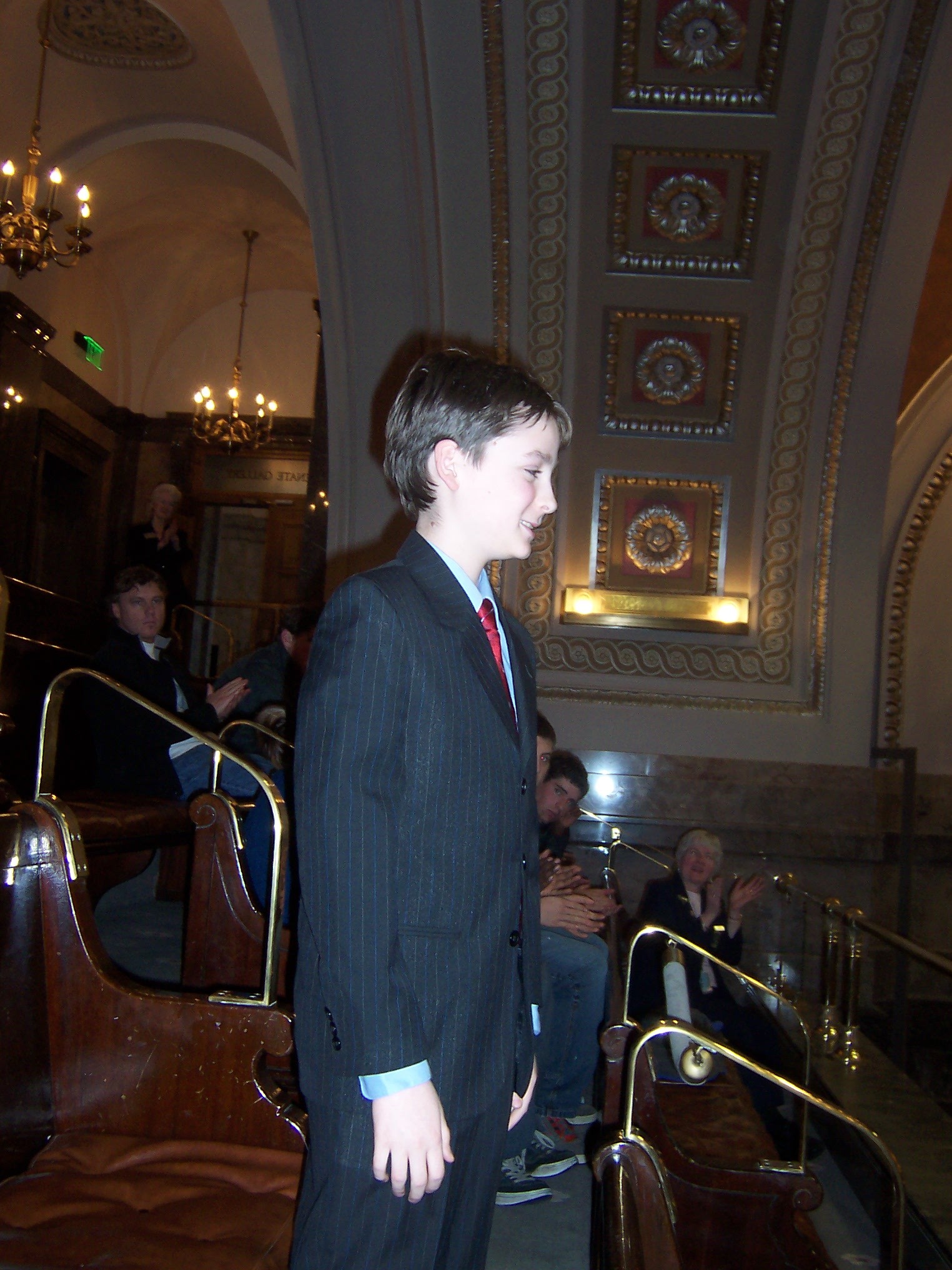 Alex Jonlin, 12, advocating for youth voice in Washington State