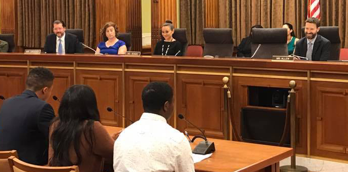 Over 70 people testify in favor of lowering the voting age in Washington D.C.